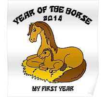 Born Year of The Horse 2014 Poster