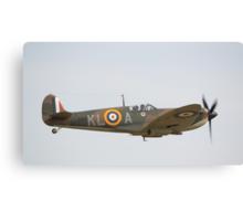 Spitfire Mk1a X4650 Canvas Print