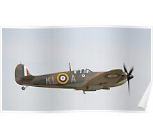 Spitfire Mk1a X4650 Poster