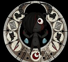 The Binding of Isaac - Eve Circle - HIGH QUALITY by Hometownheroes
