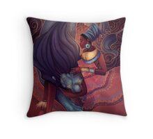 Simba Wa Kike Throw Pillow