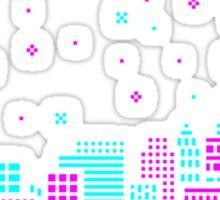 Pixelated Dreams Sticker