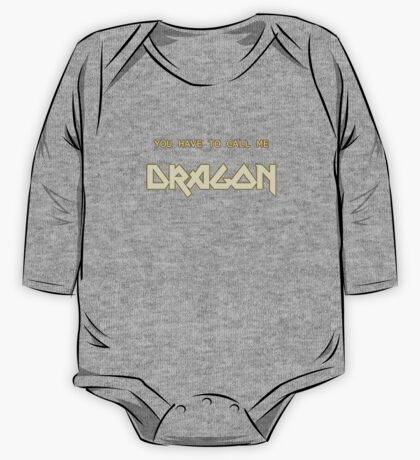 Also Known As Dragon One Piece - Long Sleeve