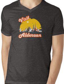 Visit Alderaan Mens V-Neck T-Shirt