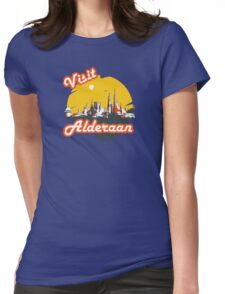 Visit Alderaan Womens Fitted T-Shirt