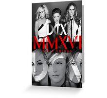 Dixie Chicks MMXVI tour 2016 DCX Greeting Card
