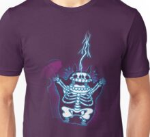 Shocked Neighbour (Blue lightning) Unisex T-Shirt