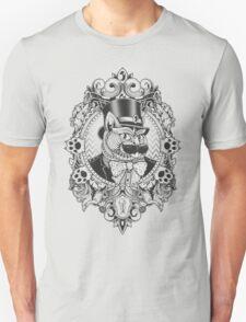 Hipster Mustache Cat T-Shirt