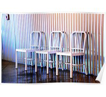 chairs.. Poster