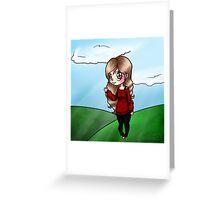 Hi Chibi Greeting Card