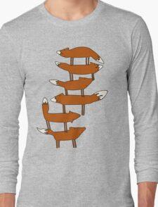 Colin Morgan's Fox Tower Shirt Long Sleeve T-Shirt
