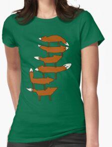 Colin Morgan's Fox Tower Shirt Womens Fitted T-Shirt