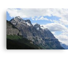 Rocky Mountain View Canvas Print