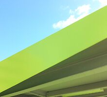 Green Lines by Michael Kienhuis