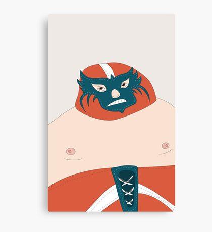 el luchador Canvas Print