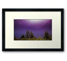 Mother Nature Unleashed Framed Print