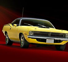 1970 Plymouth Barracuda by DaveKoontz