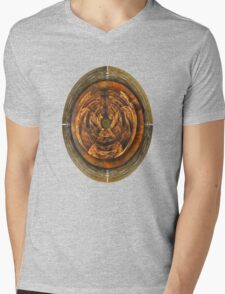 ©DA The Fractal VII Mens V-Neck T-Shirt
