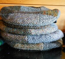 Harris Tweed Caps by kathrynsgallery