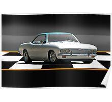 1965 Corvair Corsa 'Mini Muscle' Turbo Poster