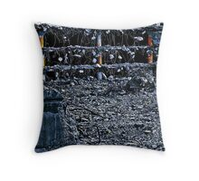 Tendrils On The Moon Throw Pillow