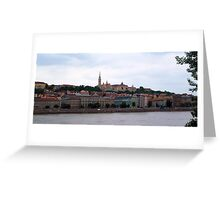 Scenic Budapest, Hungary Greeting Card