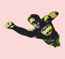 Hal Jordan in Flight Kids Tee
