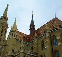 Matthias Church - Budapest, Hungary by Robert Phelps