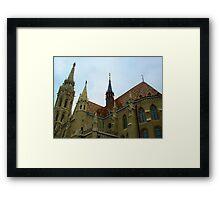 Matthias Church - Budapest, Hungary Framed Print