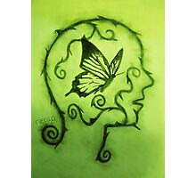 Beautiful Mind (Green) Photographic Print