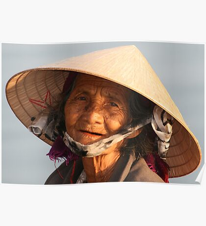 A Vietnamese Lady Poster