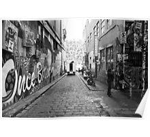 Hosier Lane Melbourne Poster