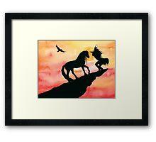 Sun Dancer Framed Print