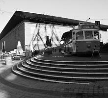Of Art Galleries And Trams by David Gan