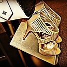 Vera Wang Designer Stilettos and Bag by Jane Neill-Hancock