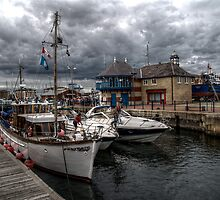 Hartlepool Marina by Andrew Pounder