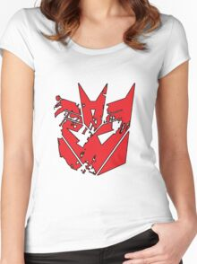 Decepticay!! Women's Fitted Scoop T-Shirt