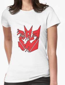 Decepticay!! Womens Fitted T-Shirt