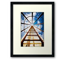 Stairways to heaven fineart print Framed Print