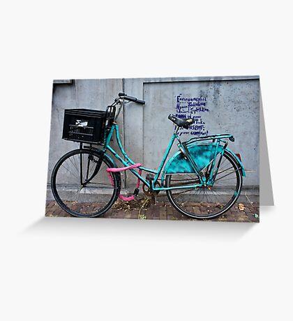 BikeIV- Amsterdam Greeting Card