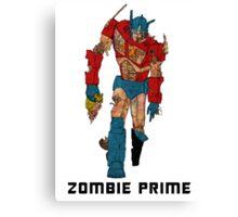 Zombie Prime Canvas Print