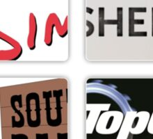 Geek TV Sticker
