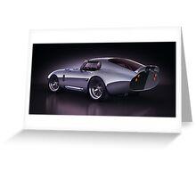 Shelby Daytona - Blue Streak Greeting Card