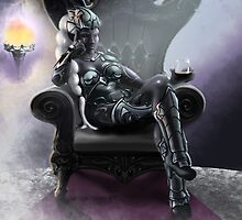 Drow Queen by JBurkeDesign