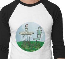 Vintage Table and Chair Men's Baseball ¾ T-Shirt