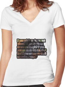 Cousin Women's Fitted V-Neck T-Shirt