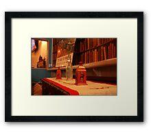 Warm decoration Framed Print