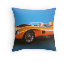 Ferrari 250 Testa Rossa - Vintage Racing Throw Pillow