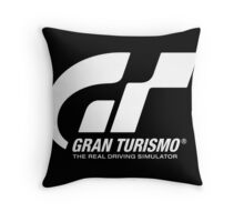 Gran Turismo Main Logo Throw Pillow