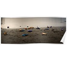 beached thongs Poster